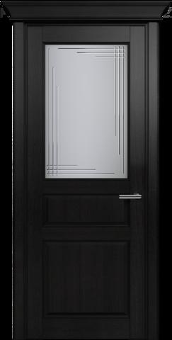 CLASSIC 532 Дуб Черный стекло Грань