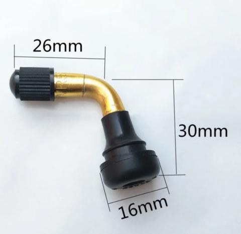 Ниппель для гироскутера 10 (кривой)