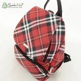 Рюкзак Саломея 502 шотландский красный + черный