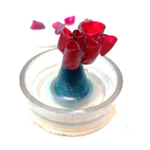 Фотополимер HARZ Labs Dental Cast Cherry, вишневый (1000 гр)