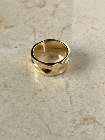 Кольцо Циара, позолта