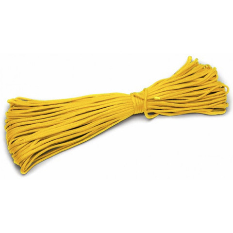 Шнур нейлоновый PC031 длина 30 м, диаметр 4.0 мм (жёлтый)