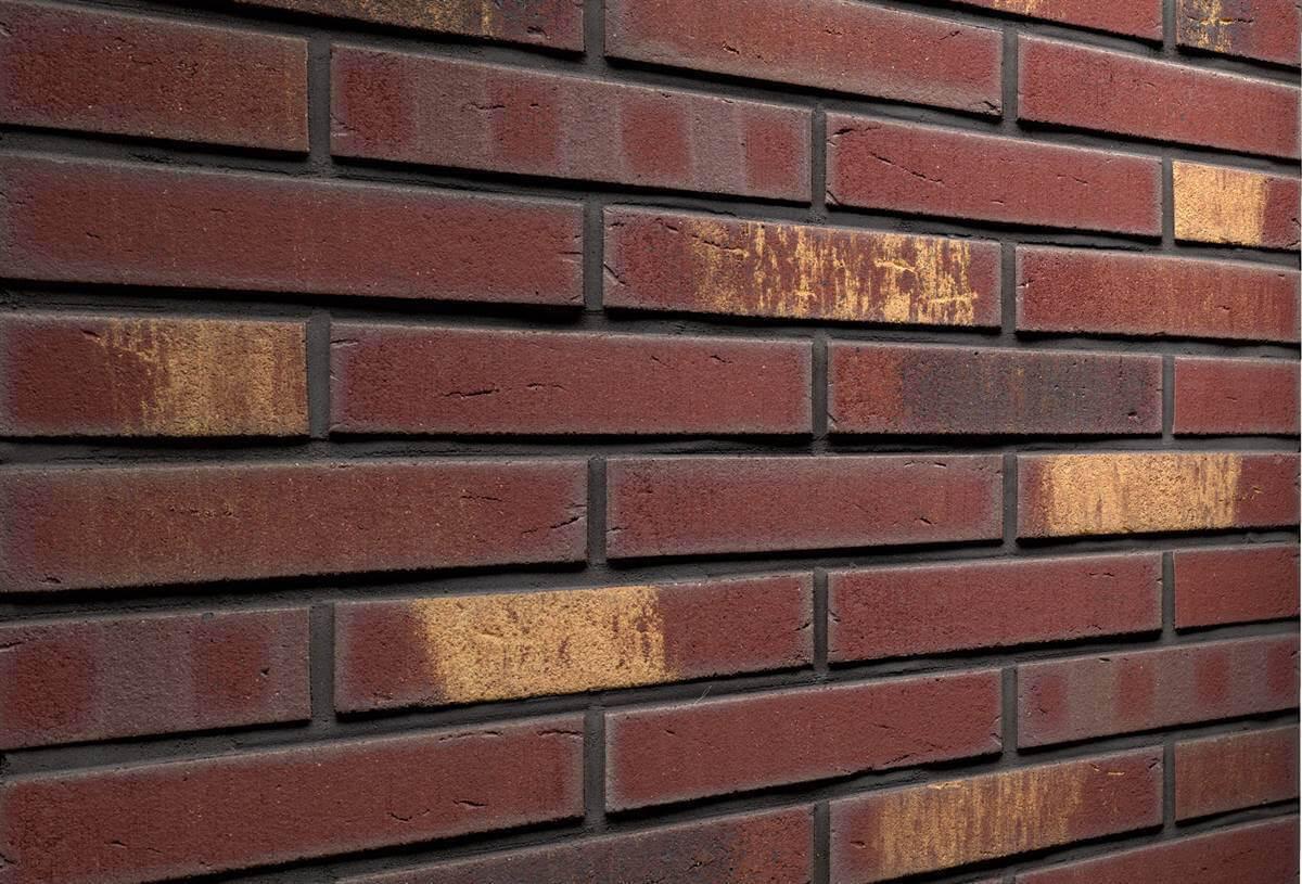 Feldhaus Klinker - R769LDF14, Vascu Cerasi Legoro, 290x14x52 - Клинкерная плитка для фасада и внутренней отделки
