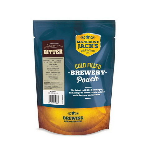 Пивной набор Mangrove jack's - Northern star bitter 1,8 кг до 23 л