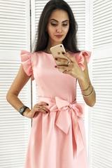 Паула. Красива молодіжна сукня. Рожевий