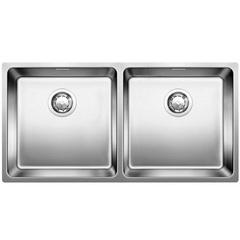 Мойка кухонная 86,5х44 см Blanco Andano 400/400-U 522987 фото
