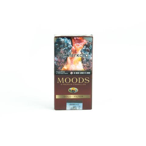 Сигариллы Moods Gold Filter 5 шт