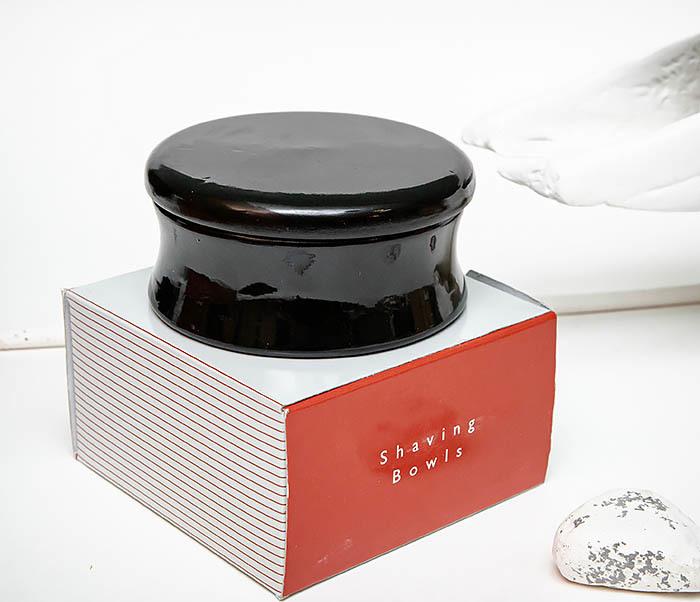 RAZ510-1 Чаша для бритья «PARKER» из дерева манго, черная