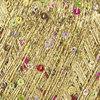 Пряжа Himalaya Yildiz 58104 (Золото с цветными пайетками)
