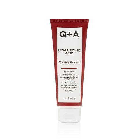 Q+A Очищающий увлажняющий гель для лица HYALURONIC ACID