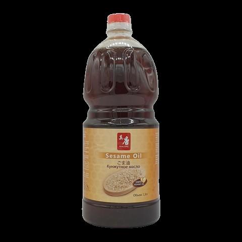 Масло кунжутное нерафинированное SESAME OIL, 1.8 литр