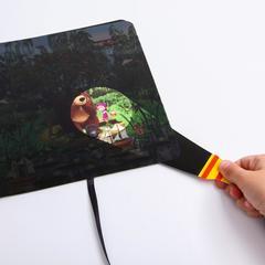 Волшебная книга с фонариком. Куда пропал урожай. Маша и медведь