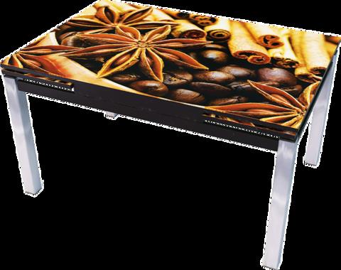 Стол стеклянный раскладной Даласи-фото