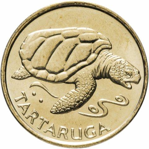 1 эскудо. Черепаха. Кабо-Верде. 1994 год. UNC