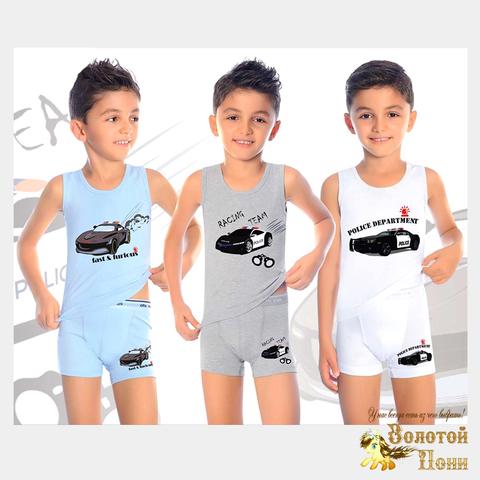 Комплект хлопок мальчику (1-8) 200306-ОТ7581