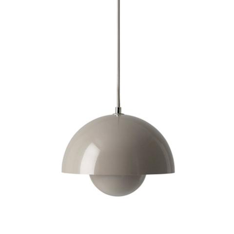 Подвесной светильник копия Flowerpot by Verpan Panton (серый)