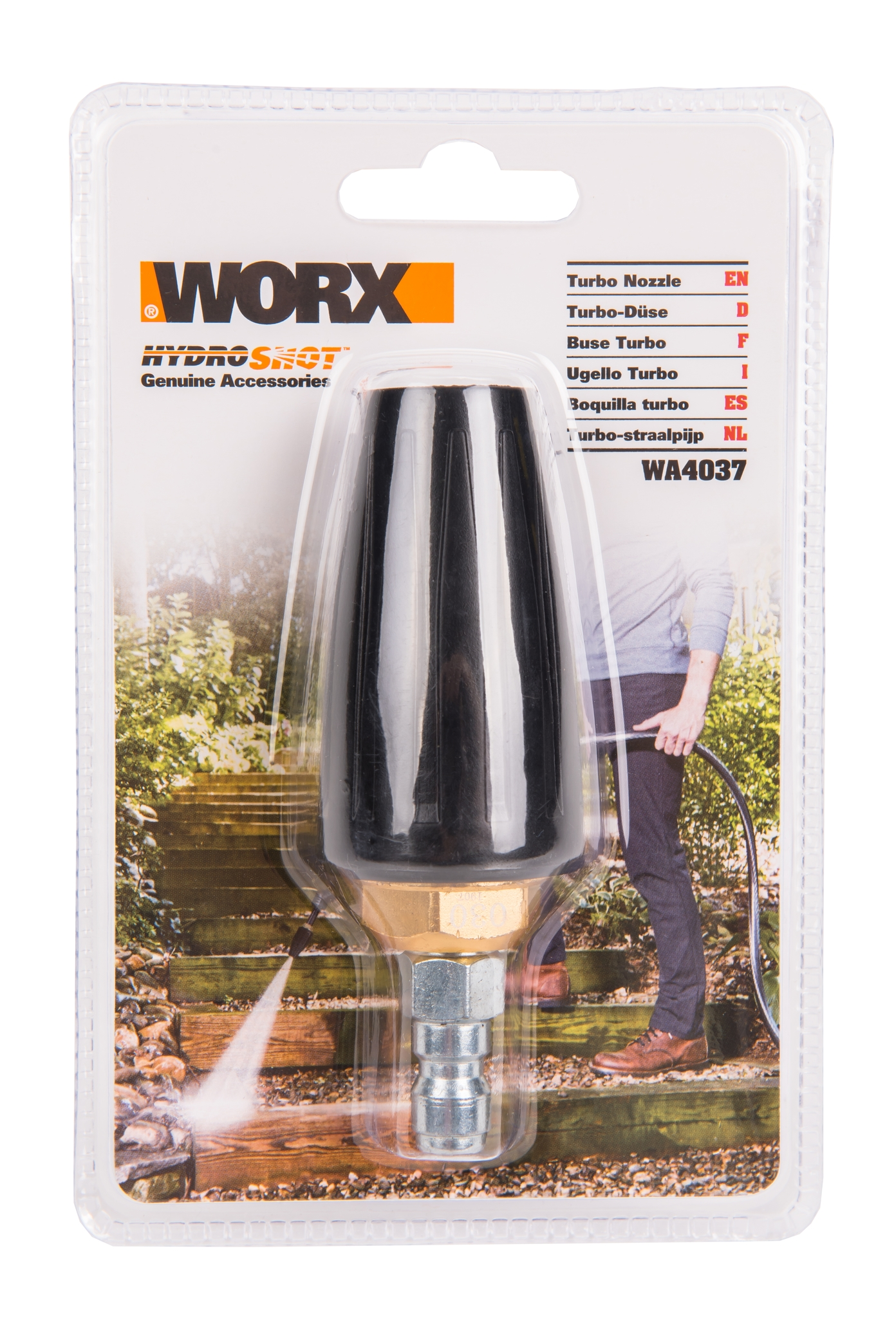 Турбо насадка для аккумуляторной мойки высокого давления WORX WA4037