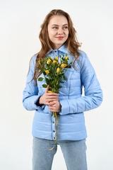 Куртка-рубашка голубой