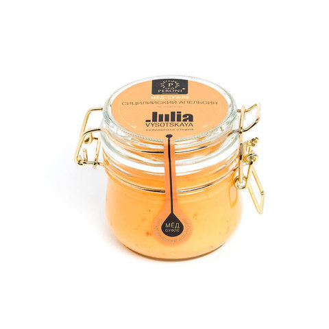 Мёд-суфле Сицилийский апельсин, артикул JV1, производитель - Julia Vysotskaya