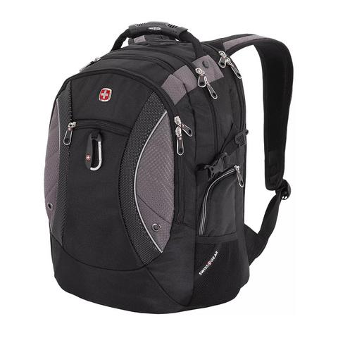 Рюкзак Swissgear  (SA1015215) 15''  чёрный/серый 35х23х48 см 39 л