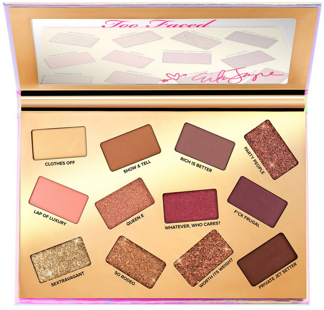 Too Faced Erika Jayne Pretty Mess Eyeshadow Palette палетка теней