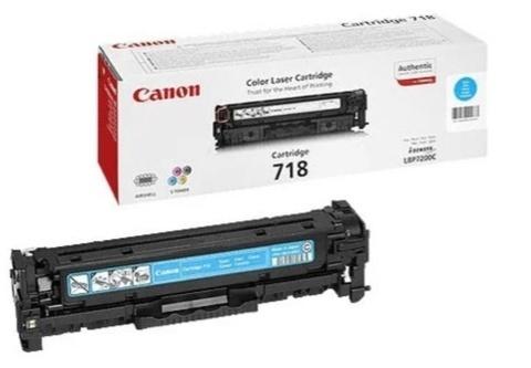 Картридж Canon 718C 2661B002 голубой