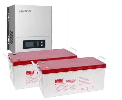 Комплект ИБП HPS20-1012N-АКБ 400 (12в, 1000Вт)
