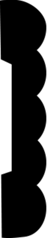 Молдинг гибкий 1.51.356