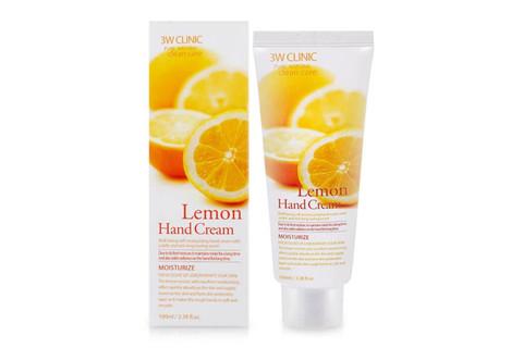 Крем для рук ЛИМОН 3W CLINIC Lemon Hand Cream, 100 мл