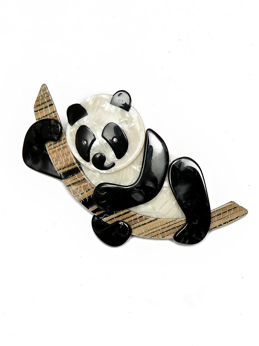 Очаровательная панда от Lea Stein