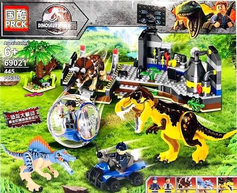 Парк юрского периода 69021 побег от динозавров,445д Конструктор