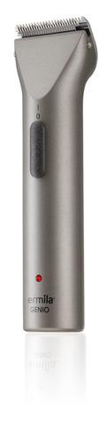 Триммер окантовочный Ermila Genio, 0,7 мм, аккум/сетевой, 2 насадки, серебристый