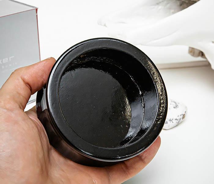 RAZ510-1 Чаша для бритья «PARKER» из дерева манго, черная фото 05