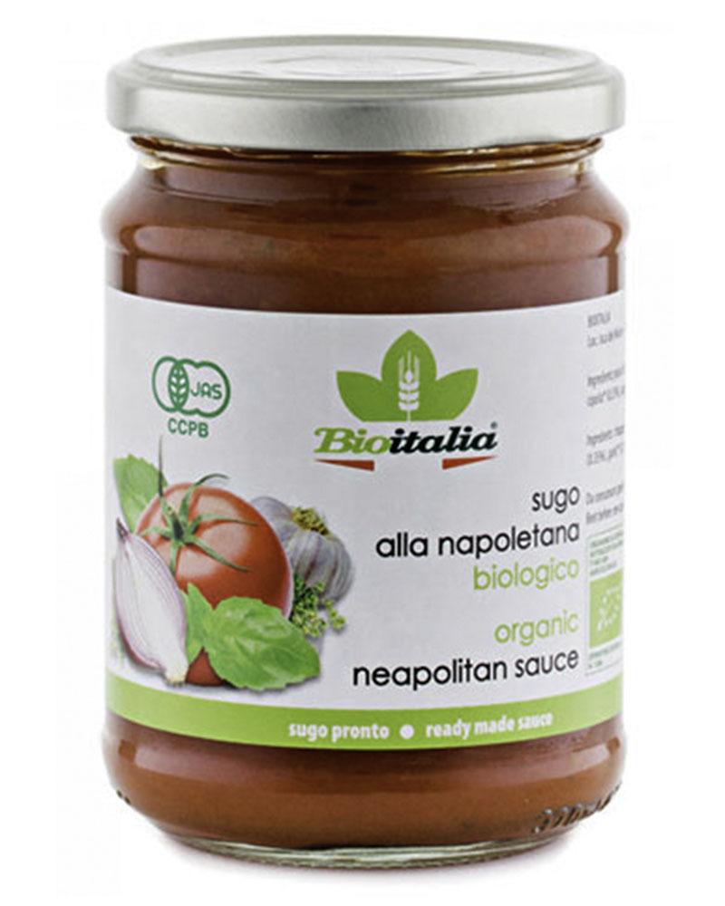 Bioitalia Neapolitan sauce 350 gr