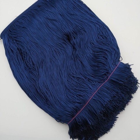 Бахрома 30 см, темно-синий