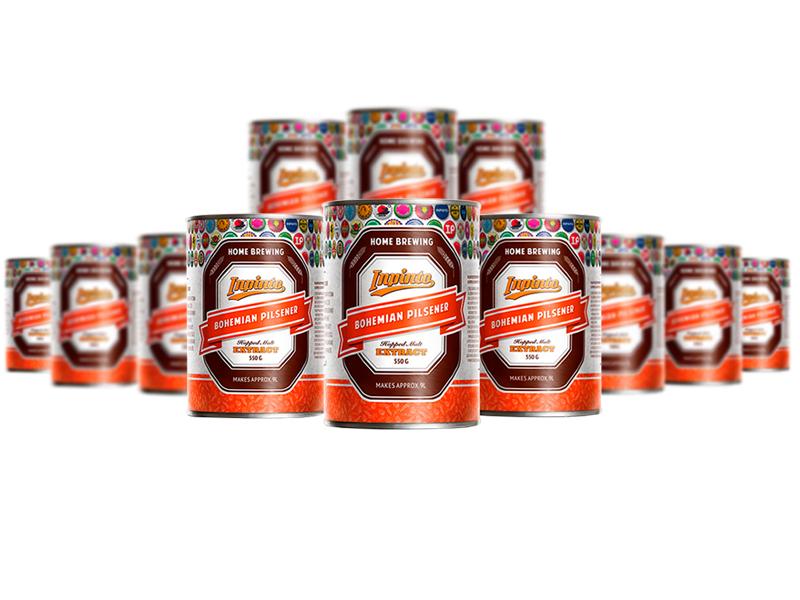 Закрытая  распродажа Солодовый экстракт Inpinto Bohemian Pilsner 12Pack 6,6 кг Солодовый_экстракт_Inpinto_Bohemian_Pilsner_1.jpg