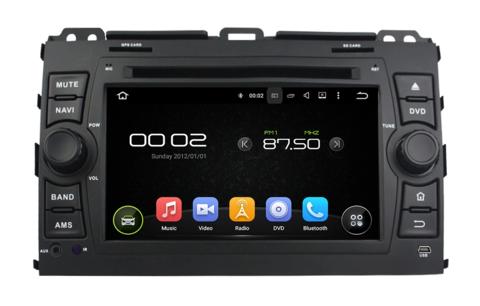 Магнитола Toyota Prado 120 2002-2009 Android 9.0 IPS DSP 2/16GB модель KD-7027PX5
