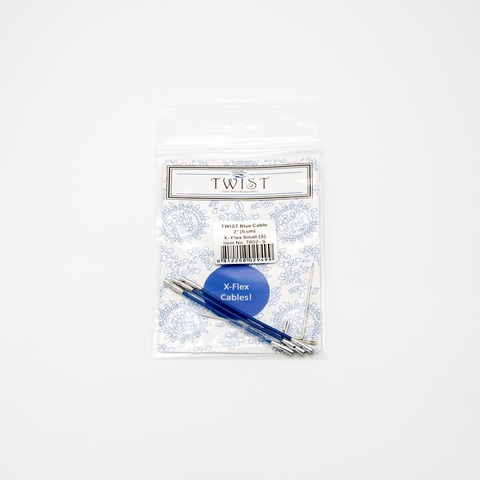 Леска Twist x-flex blue cable, ChiaoGoo