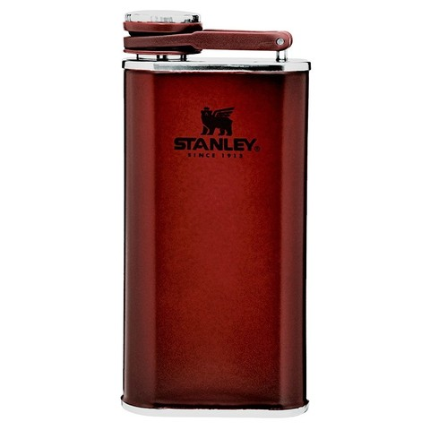 Фляга Stanley The Easy-Fill Wide Mouth Flask (10-00837-197) 0.23л бордовая