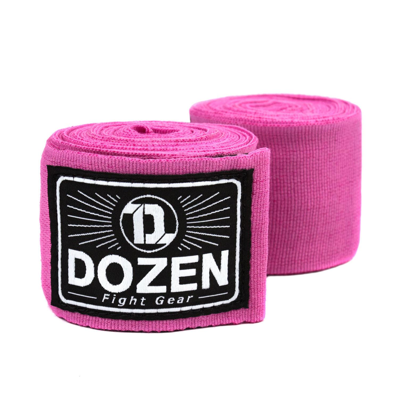 Боксерские бинты полуэластичные Dozen Monochrome Semi-elastic Hand Wraps Pink