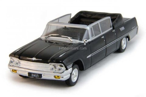 Model Cars 1 43 Zil 117 Black Deagostini Auto Legends Ussr 61