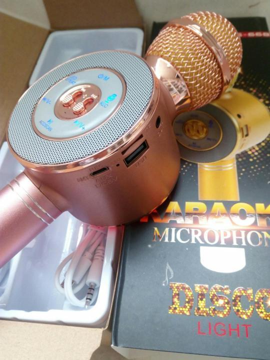 Микрофон караоке WS 668