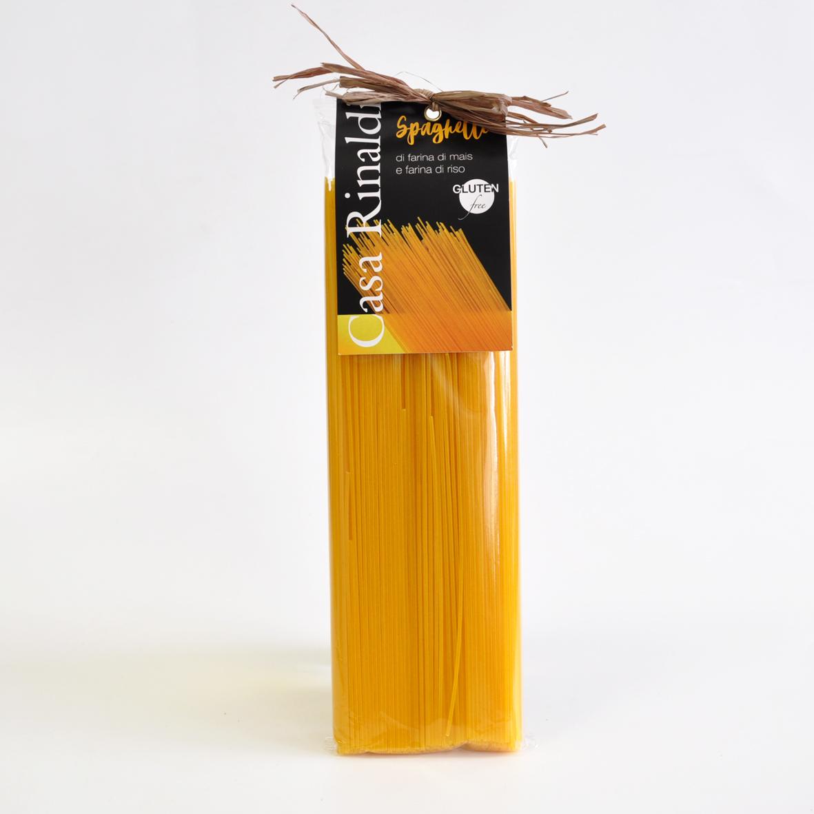 Паста Casa Rinaldi Спагетти без глютена из кукурузной и рисовой муки 500 г