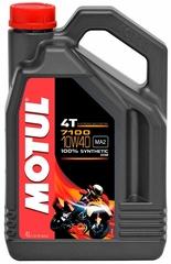 Моторное масло Motul 7100 4T 10W40 4L