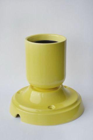 Спот керамический желтый S1 Yellow
