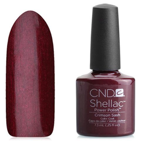 Гель лак CND Shell Crimson Sash купить за 900руб