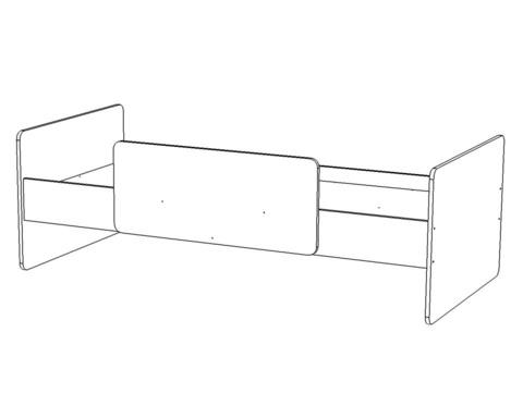 Кровать  ЛЕГИЯ-1  1800-800 /1832*600*868/