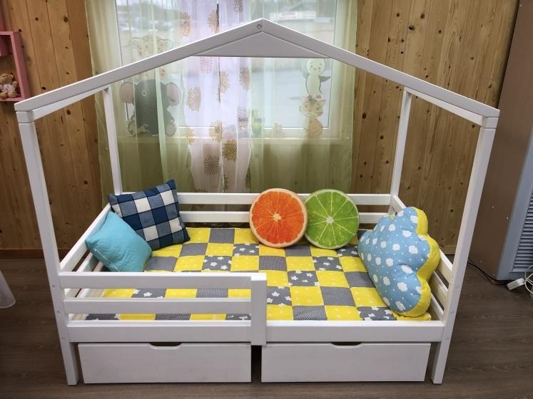 Кровать Беседка горизонтальные бортики