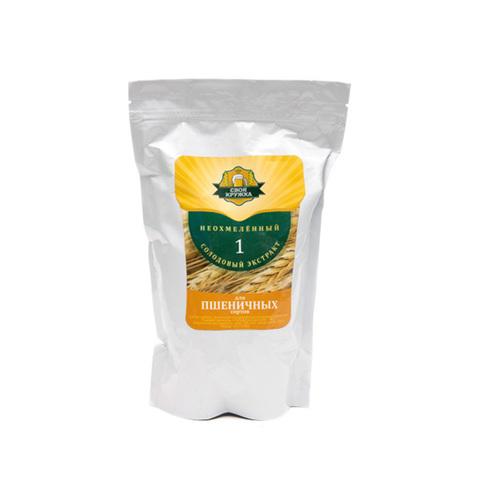 Неохмеленный экстракт Своя Кружка для пшеничного, 1 кг