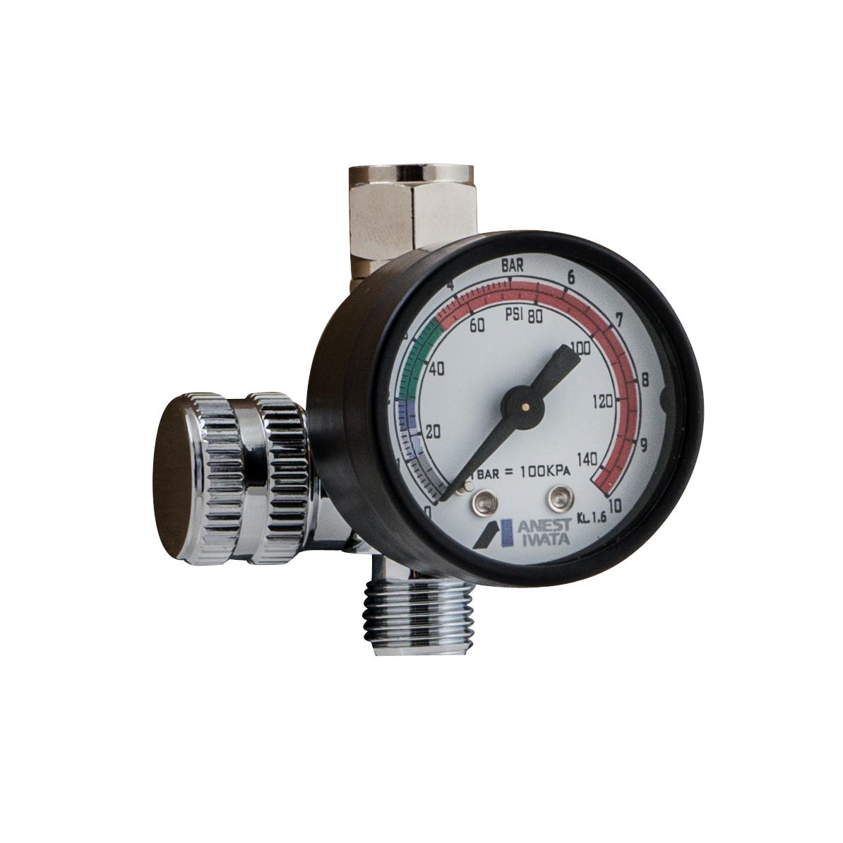 Манометры и регуляторы для краскопульта Регулятор давления c манометром | Impact Controller-2 w2012920700.jpg